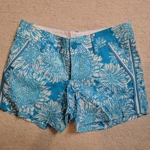 LILLY PULITZER Blue Callahan Shorts